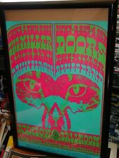 The Doors Miller Blues Band Avalon Ballroom Family Dog Concert Poster Fd-64