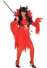 XXL Teufelin Kostüm NEU - Damen Karneval Fasching Verkleidung Kostüm