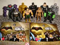 BATMAN v SUPERMAN Wonder Woman Dawn of Justice | Mighty Minis Figures Random  X4
