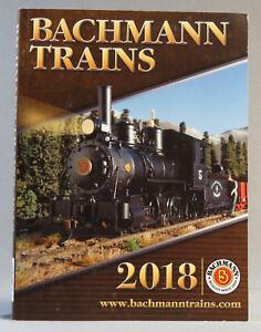 BACHMANN WILLIAMS 2018 TRAIN CATALOG BOOK n ho on30 o g scale accessories NEW