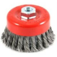 Forney 72745 Wire Bench Wheel Brush Coarse Crimped With 1