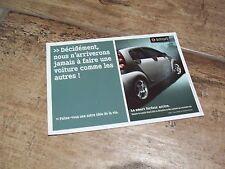 Carte postale officielle / Postcard SMART Forfour //
