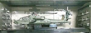 FORCES OF VALOR 1:48 DIE CAST ELICOTTERO U.S. AH-64A APACHE KUWAIT 1991   80008