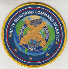 NAVY MUNITIONS COMMAND ATLANTIC PATCH