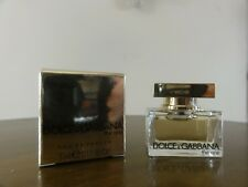 miniature. dolce et gabbana . the one. .. eau de parfum. 5 ml