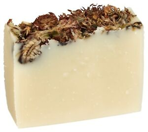 Violet Lavender Herbal Soap Bar 100% Pure Essential Oils by Fabulous Frannie