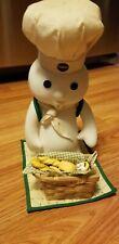 Pillsbury Doughboy Danbury Mint Picnic Surprise Porcelain Doll 1999