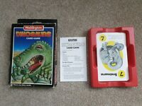 Waddingtons DINOSAUR Card Game Vintage Collectible 1988  Educational Card Game.