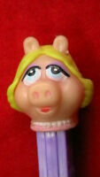 1991) PEZ DISPENSERS / THE MUPPETS MISS PIGGY / WILL COMBINED POSTAGE 3