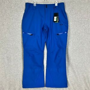 Oakley Ski 10K / 2L Shell Pants Electric Blue Size Large