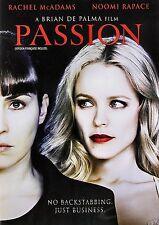 NEW DVD // PASSION // BRIAN De PALMA // Rachel McAdams, Noomi Rapace