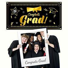 2021 Graduation Banner - Large 79� x 40� Graduation Party Supplies - Congrats
