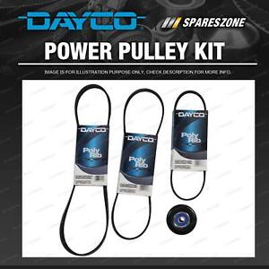 Dayco Drive Belt And Pulley Kit for Toyota Corolla AE93 AE102 AE112 1.8L