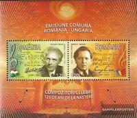 Rumänien Block380 (kompl.Ausg.) postfrisch 2006 Komponisten