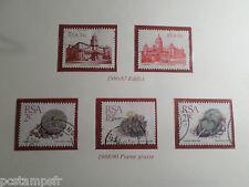 AFRIQUE DU SUD, RSA, LOT timbres THEMES FLORE ARCHITECTURE, oblitérés, VF STAMPS
