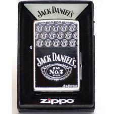 Accendino ZIPPO  jack daniel's  whiskey daniels 205  old numero  7