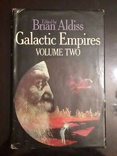 Galactic Empires Vol 2 Brian Aldiss Fantasy Syfy Action Adventure Hardcover Book