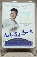 2018 Flawless WHITEY FORD Auto/Autograph /15