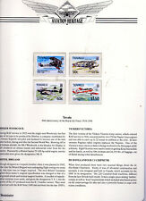 1998 Tuvalu 80 years of the Royal Air Force  Aviation Heritage series