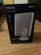 iHome Mirror 9 X 7 Bluetooth Audio, Led Lighting, Bonus 10x Magnification, Siri