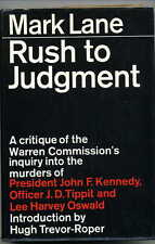 Mark Lane - Rush to Judgement + Extra Features - JFK Conspiracy Theory/Truth DVD