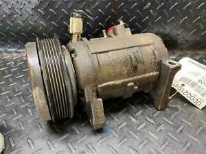 Oem A/c Air Compressor 3.8L w/o rear AC DODGE CARAVAN 01 02 03 04