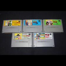 ☼ SFC - Colección juegos Dragon Ball - Super Famicom ☼