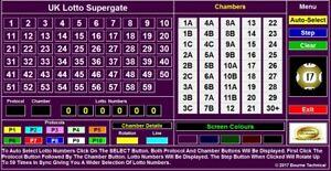 UK Lotto Powerful Supergate Lottery System
