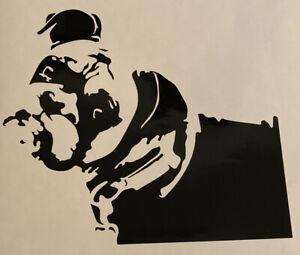 1x Boxer Dog Vinyl Sticker Decal Graphic Car Van Window Black