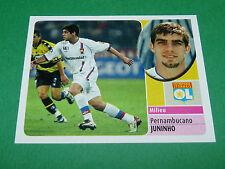 JUNINHO OLYMPIQUE LYON OL GERLAND PANINI FOOT 2003 FOOTBALL 2002-2003
