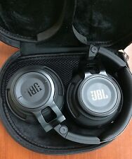 JBL Synchros Slate S500 Over-the-Ear Stereo Headphones & Carry Bag - Black