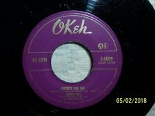 EARLY BLUES *** JOHNNIE RAY --- WHISKEY AND GIN
