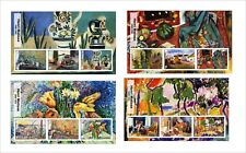 2017 HENRI MATISSE ART PAINTINGS  8 SOUVENIR SHEETS MNH UNPERFORATED