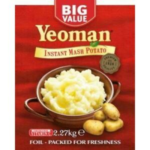 Yeoman Instant Mash Potato 2.27kg  Mashed Potato