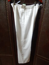 Suit Studio Womans Suit Pant White *Amazon Hues* Business Work SZ 8 NWT