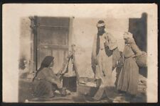 Syrie - Liban. Préparation du Couscous. Provenance archive Libanaise