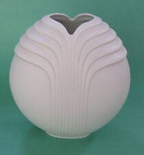 ROSENTHAL Op-Art NAIRAC Abstract Modern Design OPEN LOTUS GLOBE Porcelain VASE