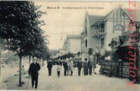 AK Binz a. Rügen, Strandpromenade vor Hotel Gramm, 1908?, 06/04