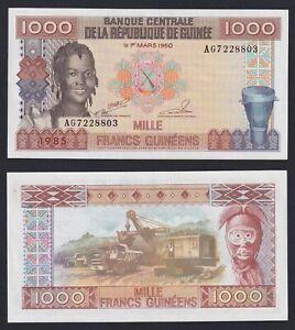 Guinea 1000 francs guinéens 1985 FDS-/UNC-  C-06
