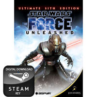 STAR WARS THE FORCE UNLEASHED ULTIMATE SITH EDITION PC AND MAC STEAM KEY