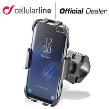 CELLULARLINE MOTO CRAB SUPPORTO MANUBRIO TUBOLARE UNIVERSALE SMARTPHONE TELEFONO