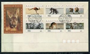 AUSTRALIAN FIRST DAY COVER....  1994 wildlife counter printed set