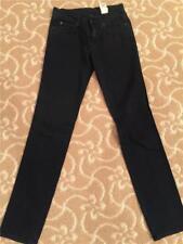 McQ Alexander McQueen Black/Navy Slim Jeans Size 25