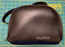Genuine Vintage Original Polaroid SX-70 Black Vinyl Camera Bag Carrying Case 188