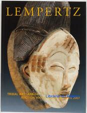 Tribal art africa Lempertz Brussels 2007 Auction 900