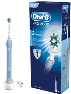 Spazzolino Elettrico Ricaricabile  Oral-B PRO 2 2000N CROSS ACTION - Braun