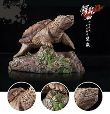 Custom made Common Snapping Turtle Resin Model Figurine Figure hand painted