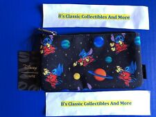 Loungefly Stitch Zip Pouch, Space Print, Cosmetic/Coin Bag, Pencil Pouch, Disney