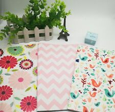 3 sheets 50cmx70cm Mother's day wrapping paper floral pink bird wrapping paper