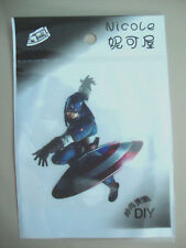 Captain America Iron on Transfer Kid's BRAND NEW WITH RETAIL PACKAGING